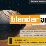 "Revistas ""Blender Art"" en español."